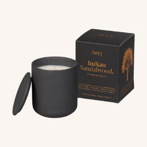 Indian Sandalwood Scented Candle