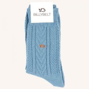 Merino Wool Socks Azure