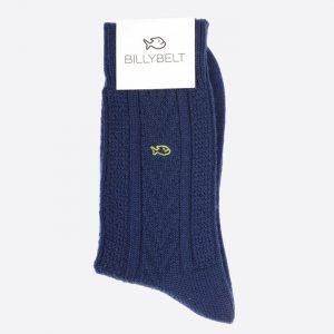 Merino Wool Socks Navy Blue